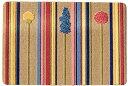 Bungalow バンガロー 玄関マット 70×50×0.4cm フローラル DS61002