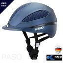 乗馬用ヘルメット KED PASO  紺色 ダークブルー