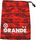 グランデ GRANDE DISITAL CAMO シューズケース GFPH15909 RED/WHT