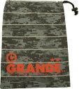 グランデ GRANDE DISITAL CAMO シューズケース GFPH15909 GRY/RED