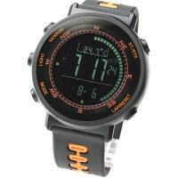 ラドウェザー LAD WEATHER ウェザーマスター WEATHER MASTER デジタル 腕時計 オレンジ/ブラック メンズ レディース LAD002BKOR