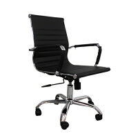 オフィスチェア ブラック  B701-BK(1台)