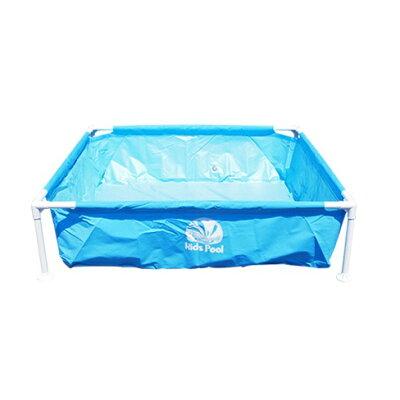 フレームプール ブルー 120×120×30cm