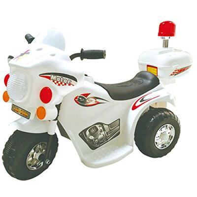 電動乗用バイクLQ LQ-998-WHRDBK 充電式 SIS ホワイトレッドブラックTD