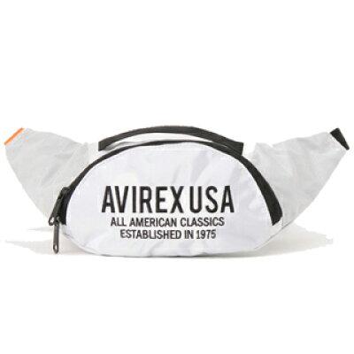 AVIREX/アヴィレックス ウエストショルダーバッグ ボディバッグ 軽量115g