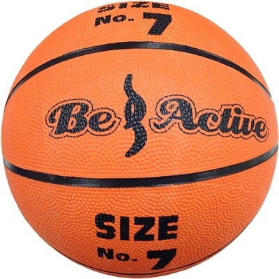ビーアクティブ Be Active ゴムバスケットボール 7号 BA-5144