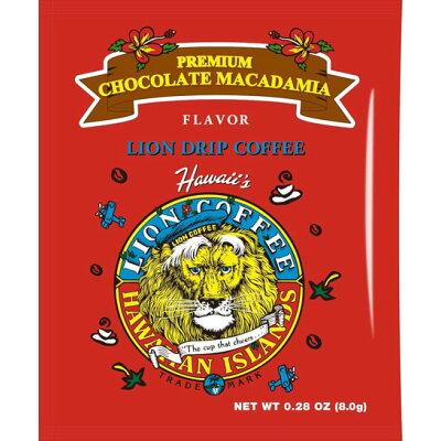 ライオンドリップコーヒー プレミアムチョコレートマカダミア 8g
