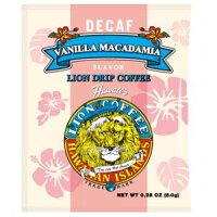 ライオンドリップコーヒー デカフェ バニラマカダミア 8g