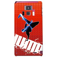 breakin-red×blue design by ARTWORK / for REGZA Phone T-01D/docomo
