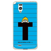 itletter&boy ブルー T (クリア) design by PansonWorks / for Optimus it L-05D/docomo (SECOND SKIN)