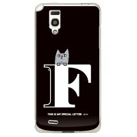 itletter&cat ブラック F (クリア) design by PansonWorks / for Optimus it L-05D/docomo (SECOND SKIN)