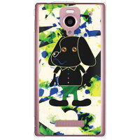 Code;C (DOGGY3) (クリア) / for Disney Mobile on SoftBank DM016SH/SoftBank (SECOND SKIN)