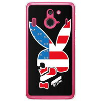 SECOND SKIN Bunny bone VERSION2 クリア design by ROTM / for Disney Mobile on docomo F-03F/docomo DFJF3F-PCCL-202-Y063