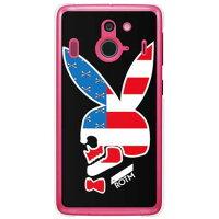 SECOND SKIN Bunny bone VERSION2 クリア design by ROTM / for Disney Mobile on docomo F-03F/docomo DFJF3F-PCCL-202-Y063