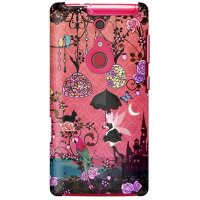 (スマホケース)uistore 「Fairy Night Garden」 / for ARROWS Z FJL22/au (SECOND SKIN)