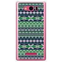 AQUOS PHONE Xx mini 303SH/SoftBank専用 SECOND SKIN スマートフォンケース フェアアイル グリーン クリア SSH303-PCCL-298-Y265