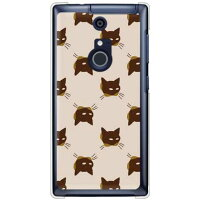 SECOND SKIN SINDEE Cat-World ベージュ クリア / for ARROWS NX F-01F/docomo DFJF1F-PCCL-277-Y662