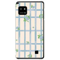 SECOND SKIN SINDEE Flower Grid オフホワイト クリア / for Optimus it L-05E/docomo DLGL5E-PCCL-277-Y663