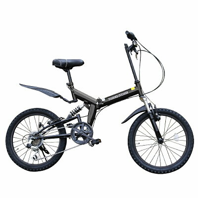 AIJYU CYCLE /アイジュサイクル 20インチ 折りたたみ自転車 AJ-01-BK