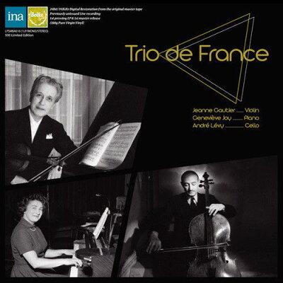 Ravel ラベル / ラヴェル: ピアノ三重奏曲、フォーレ: ピアノ三重奏曲 トリオ・デ・フランス
