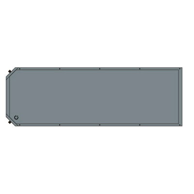 クイックキャンプ キャンピングマット 5cm厚手 インフレータブルマット QC-CM5.0