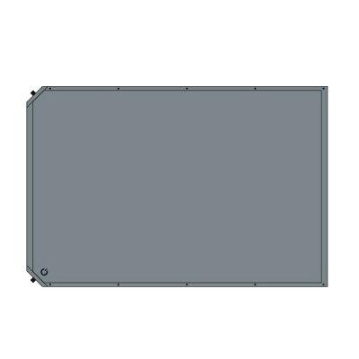 車中泊マット 8cm 極厚 ダブルサイズ 自動膨張 グレー 車中泊 インフレータブル クイックキャンプ QC-CMD8.0a