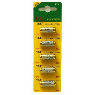 T&E 12V 23A アルカリ乾電池