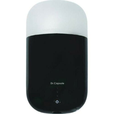 ロア スマートフォンUV除菌器 ドクターカプセル ブラック ROA7268(1コ入)