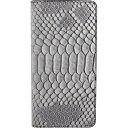 ROA iPhone 7 Plus用 Matt Python Diary グレー GZ8039I7P
