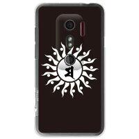 HTC EVO 3D ISW12HT/au専用 Cf LTD 梵字 卯 う クリア AHTEV3-PCCL-152-M852