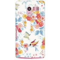 (スマホケース)SINDEE 「Heaven's Flower」 / for AQUOS PHONE EX SH-04E/docomo (SECOND SKIN)