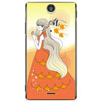 Coverfull Coral Fish クリア design by いせきあい / for Xperia GX SO-04D/docomo DSEXGX-PCCL-152-M865