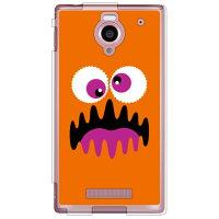 YESNO ワンダーモンスター オレンジ ソフトTPUクリア / for AQUOS PHONE Xx 302SH/SoftBank SSH302-TPCL-701-Q106