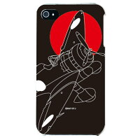 Coverfull 九六式四号 漆黒シルエット クリア design by figeo / for iPhone 4S/SoftBank SAPI4S-PCCL-152-M872