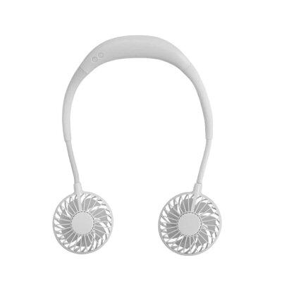 光るアロマセラピーネックファン ホワイト neckfan-wh 3015
