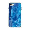 藤家 iPhone8/7 4.7 ラッセン ガラスハイブリッド ケース ghp7044-bk-b-ip8