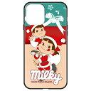藤家 Fujiya iPhone 12/12 Pro 6.1インチ対応 不二家 ガラスハイブリッド E. ミルキークリスマス