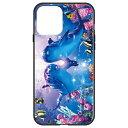 藤家 Fujiya iPhone 12 mini 5.4インチ対応 ラッセン ガラスハイブリッド A. PRECIOUS LOVE II