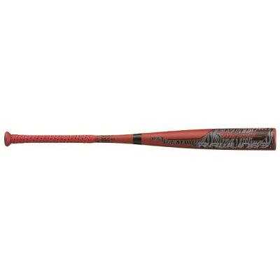 ハイパーマッハ3 一般軟式用バット ミドルバランス サイズ:84cm 640g平均 カラー:レッド #BR0HYMA3-RD