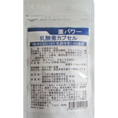 乳酸菌 サプリメント 菌パワー