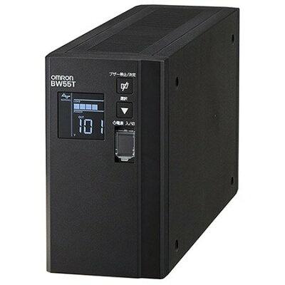 オムロン BW55T 無停電電源装置 常時商用 正弦波 / 550VA/ 340W/ 縦型