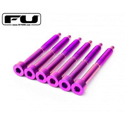 FU-Tone Titanium String Lock Screw Set 6 PURPLE