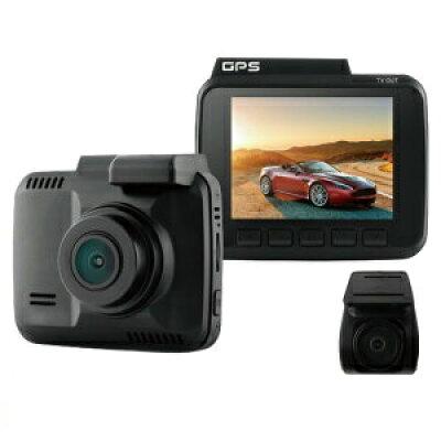 16GB microSDカード付 ドライブレコーダー  前後 カメラ 2カメラ 1年 ADAS 先進運転支援システム 駐車監視 衝撃録画 常時録画 イベント録画 GPS ビッグパワー BIGPOWER MDR ACAM