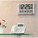 キングジムハイブリットデジタル電波掛け時計 GDD-001 GDD001
