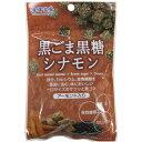 沖縄物産企業連合 黒ごま黒糖 シナモン 40g