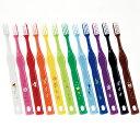 ジュニア用歯ブラシ ハッピーカラー12色 LA-210