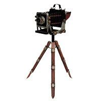 東洋石創 アンティーク調 ブリキのオブジェ camera 27425