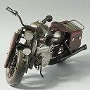 東洋石創 アンティーク調 ブリキのオブジェmotorcycle combat  27436
