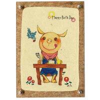 CK60/CORE/ くぼたあさみ アートフォトフレーム Happy BirthDa