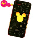 ディズニーライトケース ミッキーシルエットタイプ(0127) iPhone5 ケース